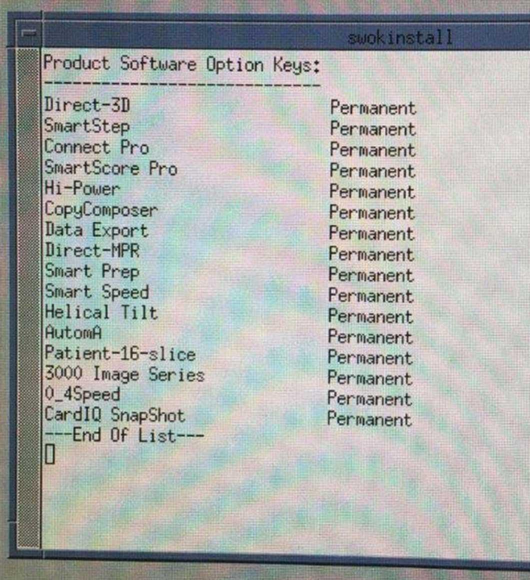 2006 GE LightSpeed Pro 16 CT Sim
