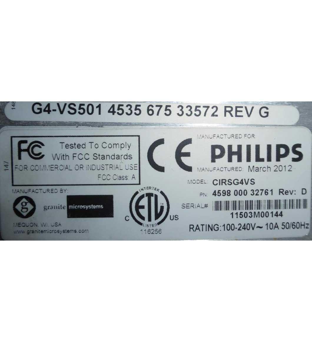 2009 Philips Brilliance iCT 256
