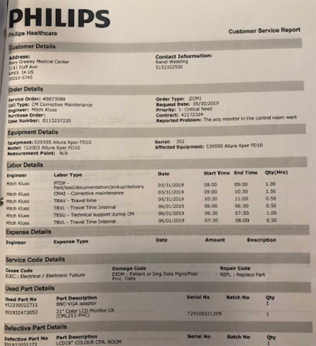 2006 Philips Cardiac/Vascular Lab Allura Xper FD-10